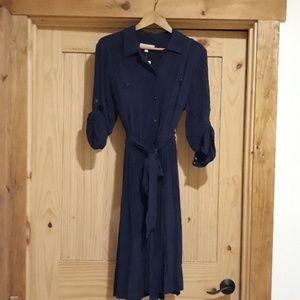 NWT Banana Republic Button Down Dress. Size 14.